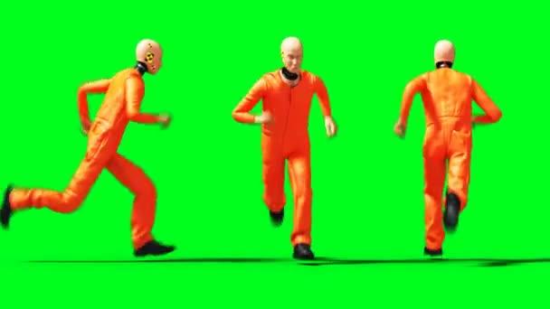 falešná animace. Zkušební jízda. Phisical motion blur. Realistická 4k animace. Zelená obrazovka