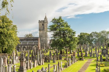 Church of the Holy Rude Old Town Cemetery lose to Stirling Castle in Scotland.