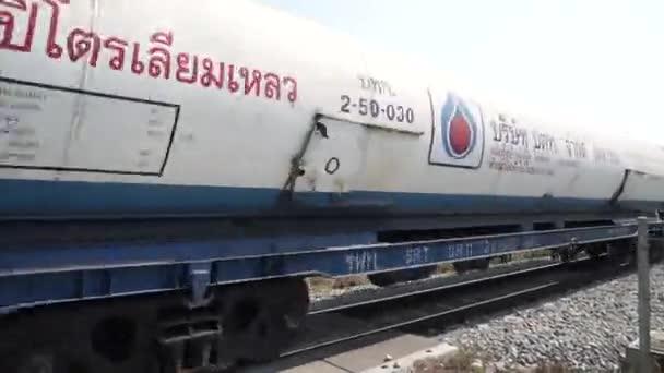 Vysokorychlostní nákladní vlak detailní záběr.