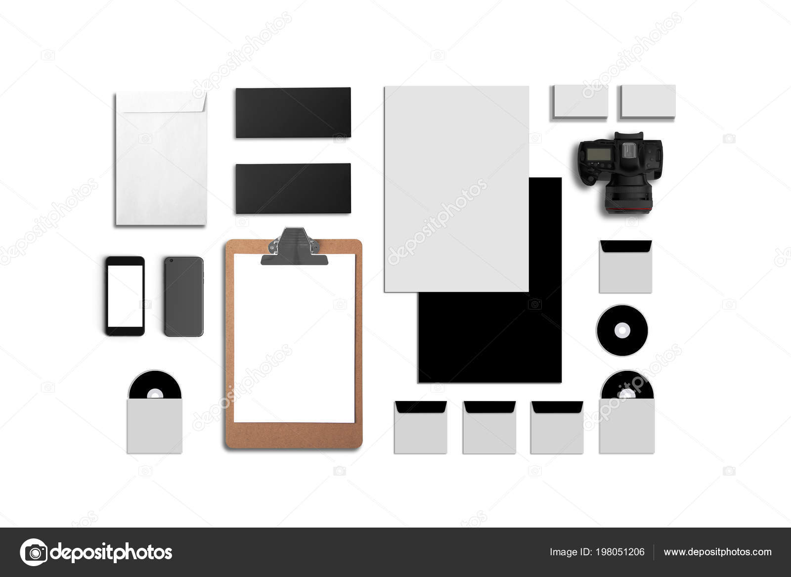 Compos De Cartes Visite Dossier Tablet Pc Enveloppes A4 Papier En Tte Ordinateurs Portables Flash Crayon Disque Cd Et Les Tlphones