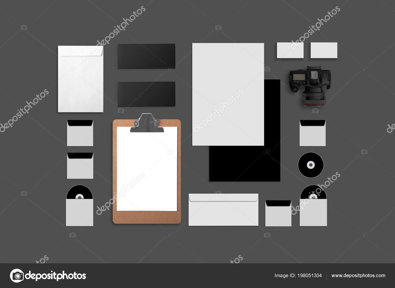 Compose De Cartes Visite Dossier Tablet Pc Enveloppes A4 Papier A En Tete Ordinateurs Portables Flash Crayon Disque Cd Et Les Telephones