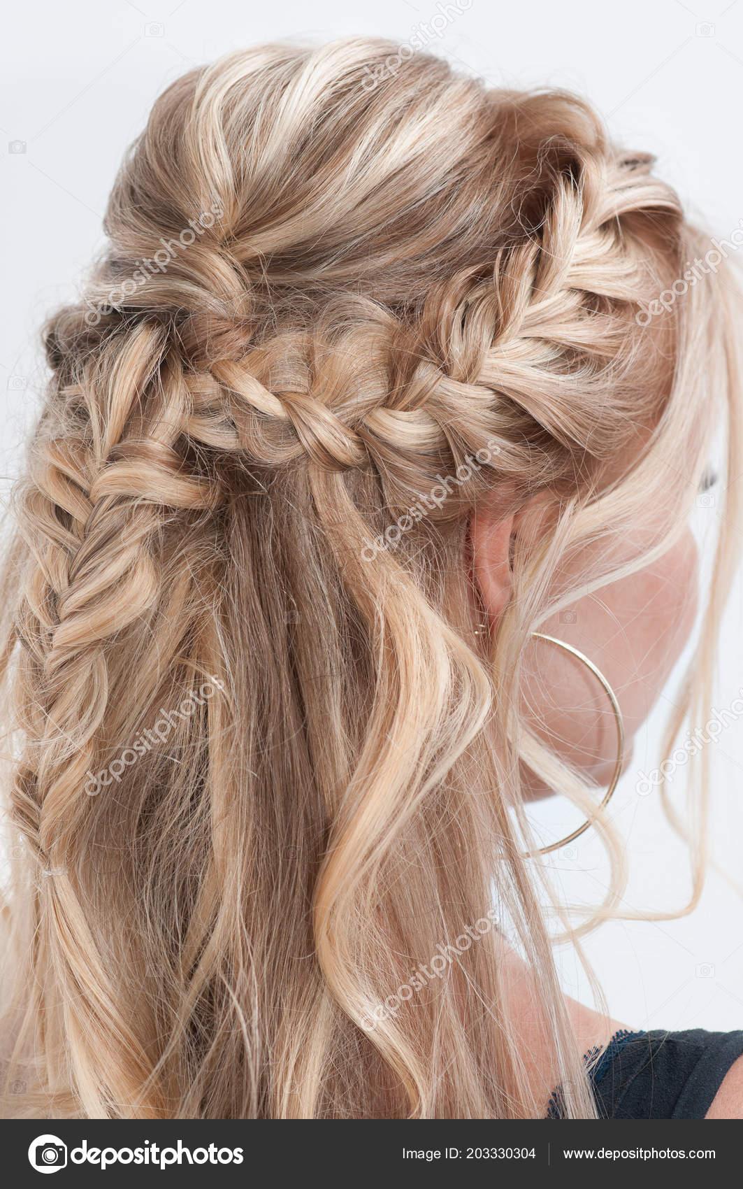 Blonde Aux Cheveux Longs Coiffure Photographie Oksy001 C 203330304