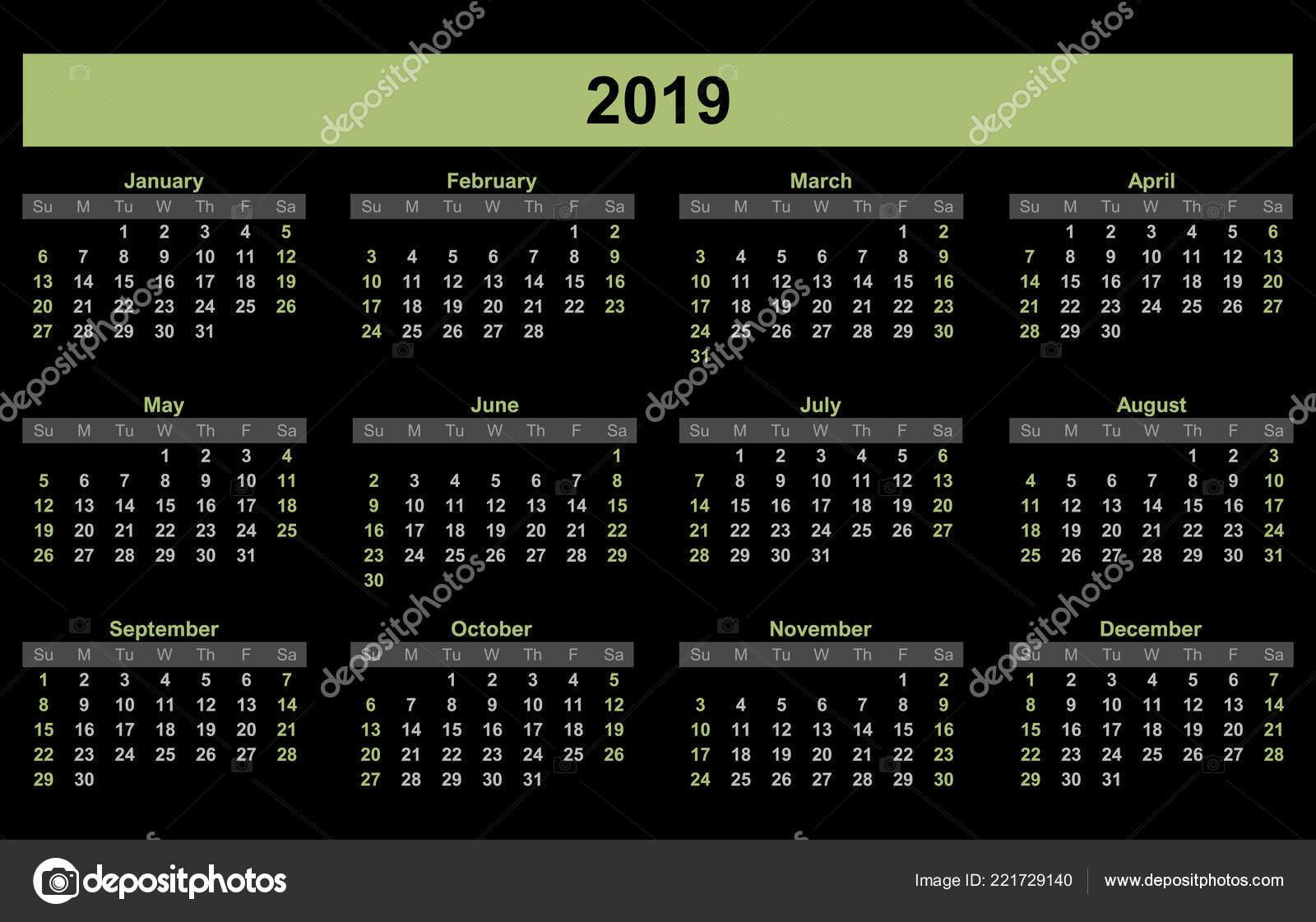 2019 Planner Calendar Schedule Organizer Companies Private Use
