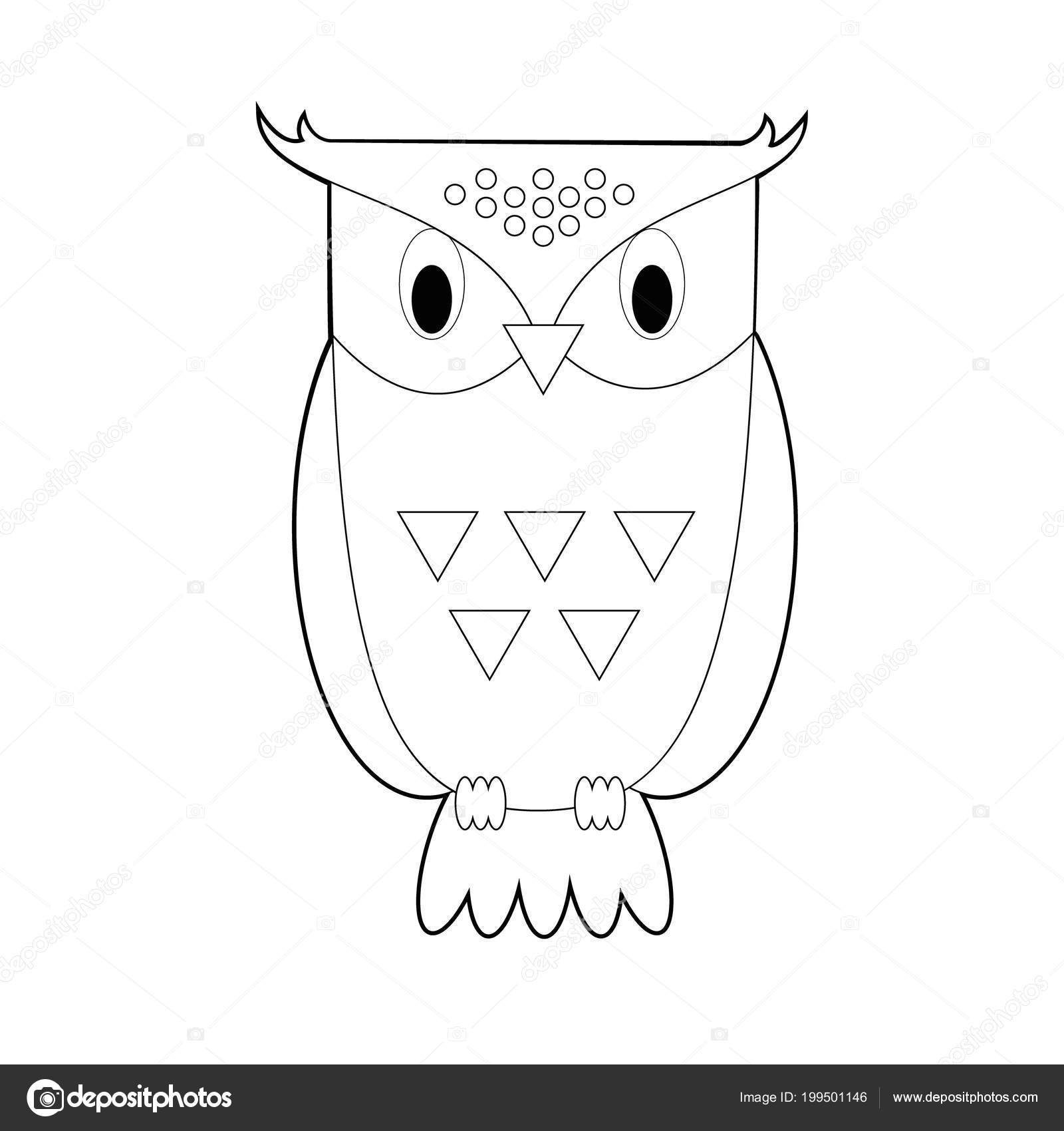 Dibujos Faciles De Sabiduria Fácil Para Colorear Dibujos Animales