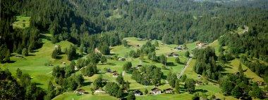 beautiful village near zweilutschinen
