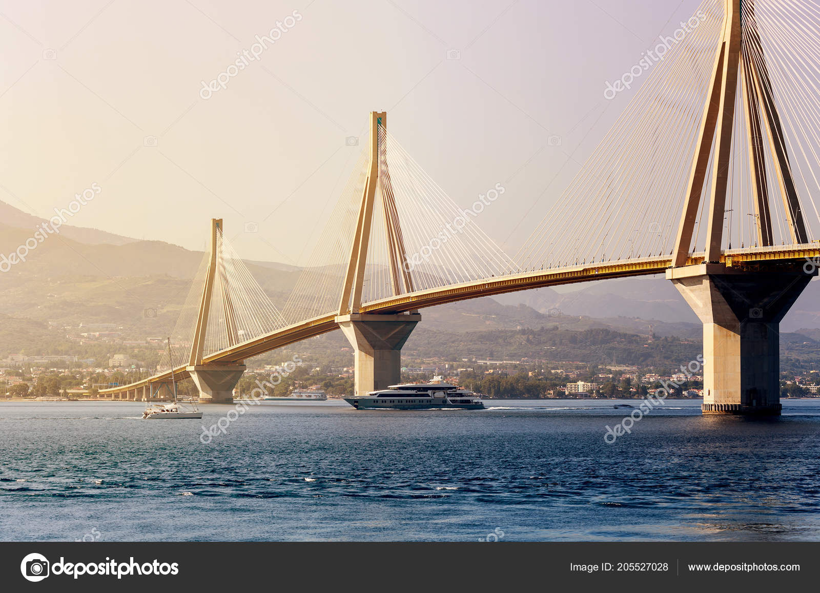 view rion antirion bridge longest cable stayed bridge world