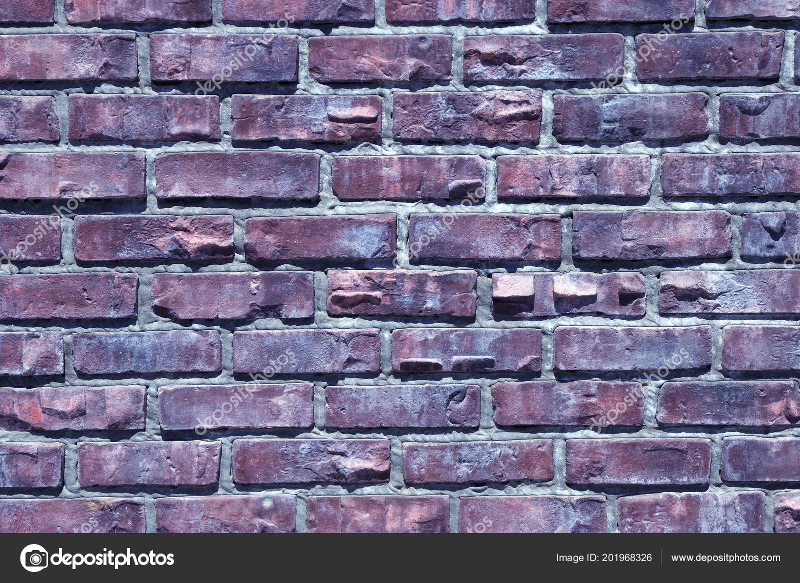 Texture Close Colored Brick Wall Background Image Stock