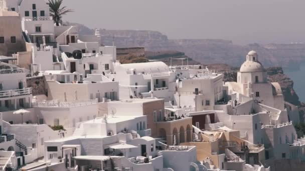 Město Oia na Santoríni Řecko, Panorama