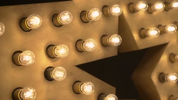 Decorative star with lamps
