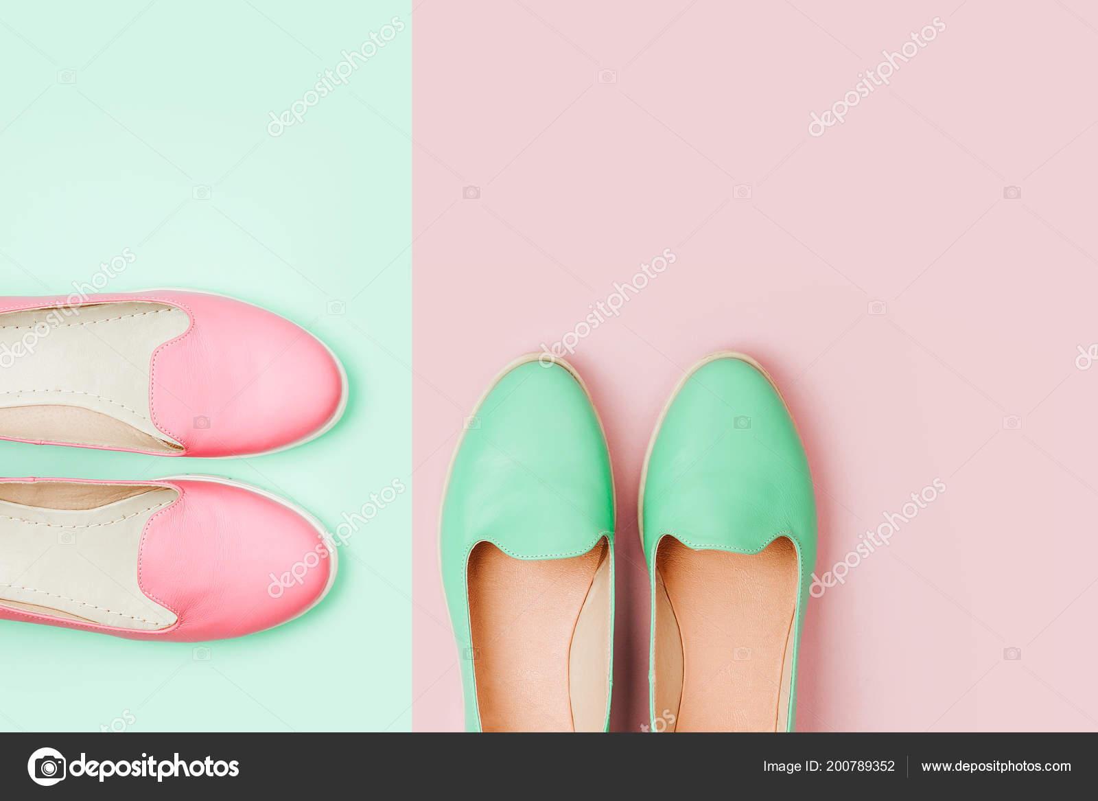 newest adc8c ec77d Elegante Weibliche Schuhe Pastellfarben Beauty Fashion ...
