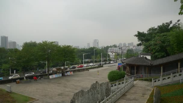 Footage of Wuhan city traffic ,China