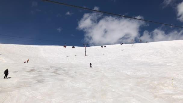 lyžařské středisko Gudauri