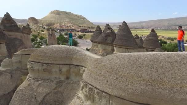 Kőgomba. Szerzetesek völgye. Utazás Cappadocia-ba. Törökország.
