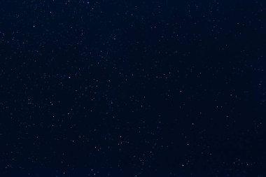 stars on dark blue starry night sky
