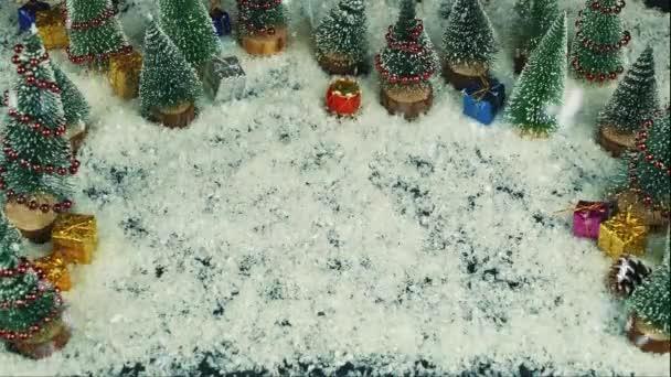Frohe Weihnachten Englisch.Stop Motion Animation Von Joyeux Noel Französisch In Englisch Frohe Weihnachten