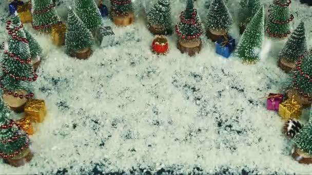 Stop motion animáció Santa megáll itt