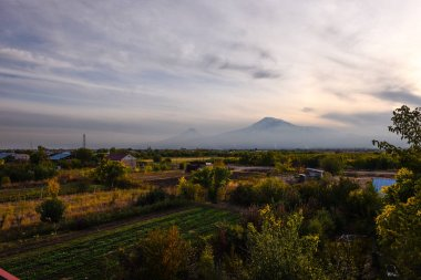 View of Mout Ararat from Armenia