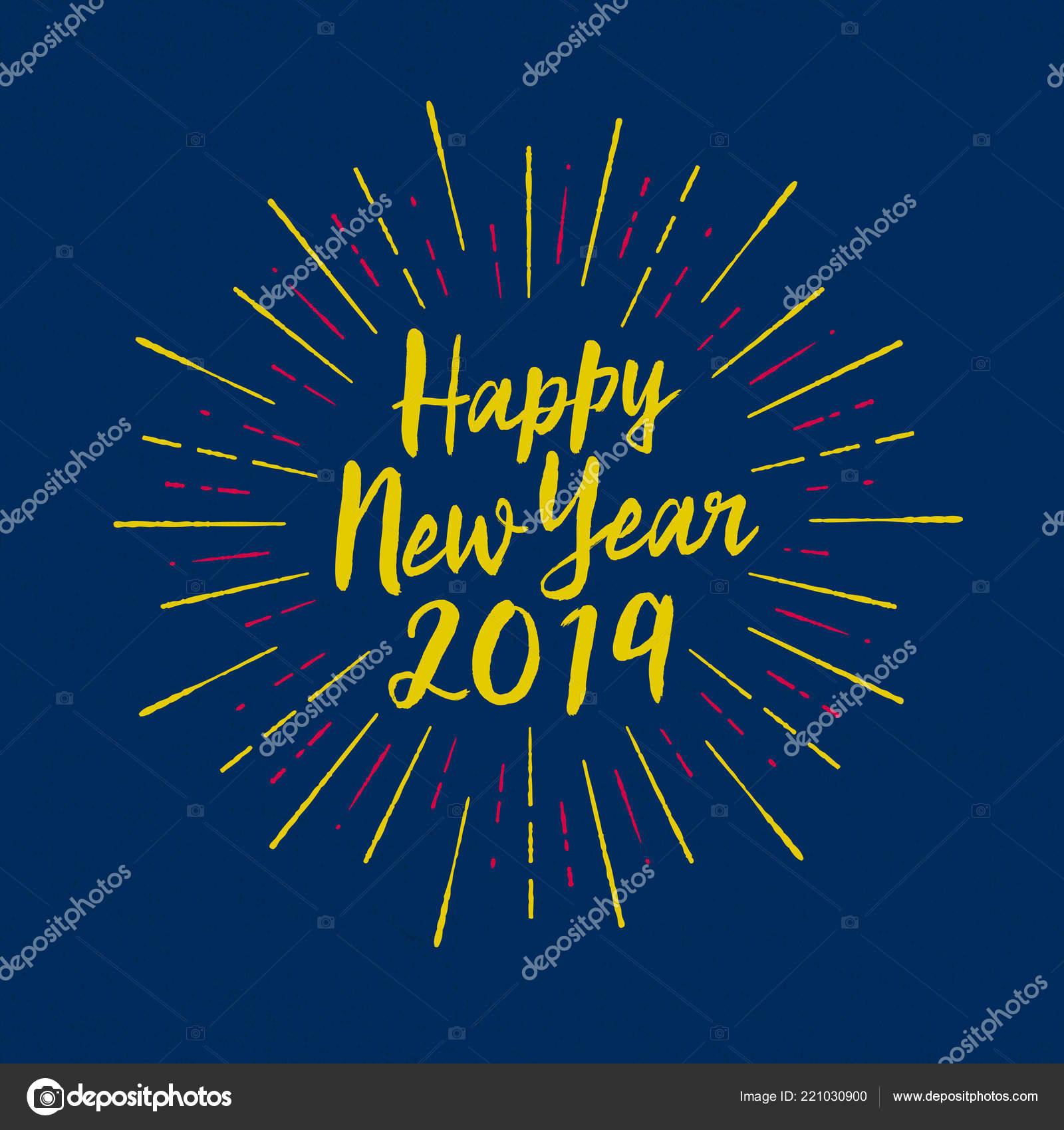 Happy New Year Cards 2019 Handmade Www Bilderbeste Com