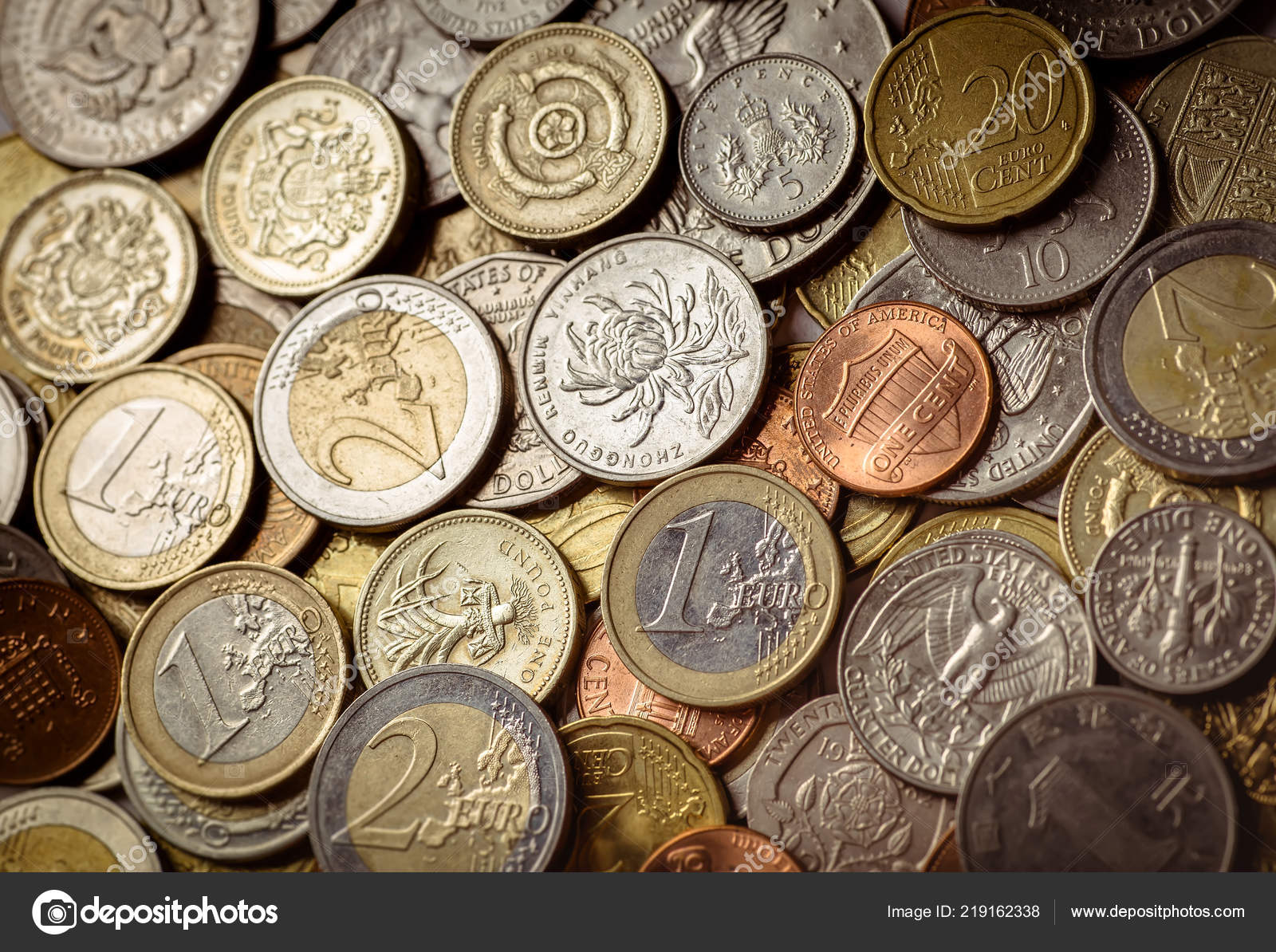 coin currency stock
