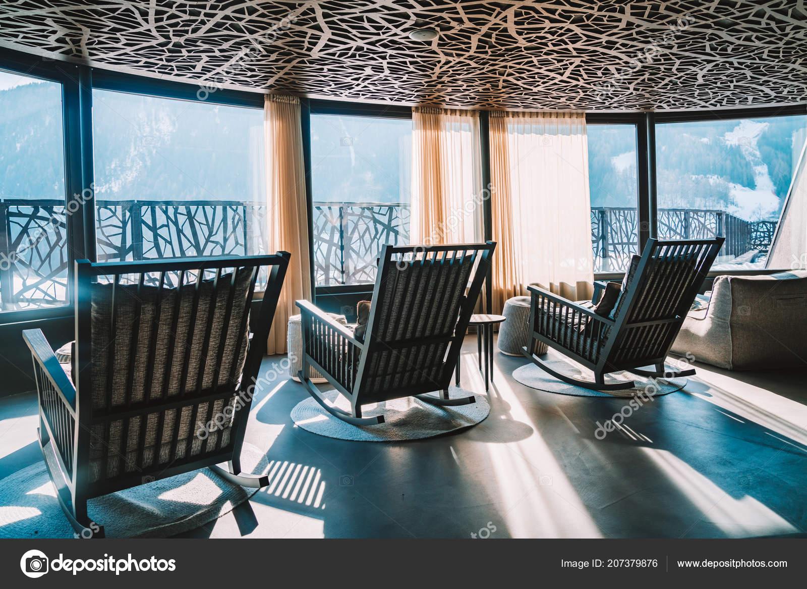 Alpina Hotel Saalbach Austria Marzo 2018 Increíble Diseño