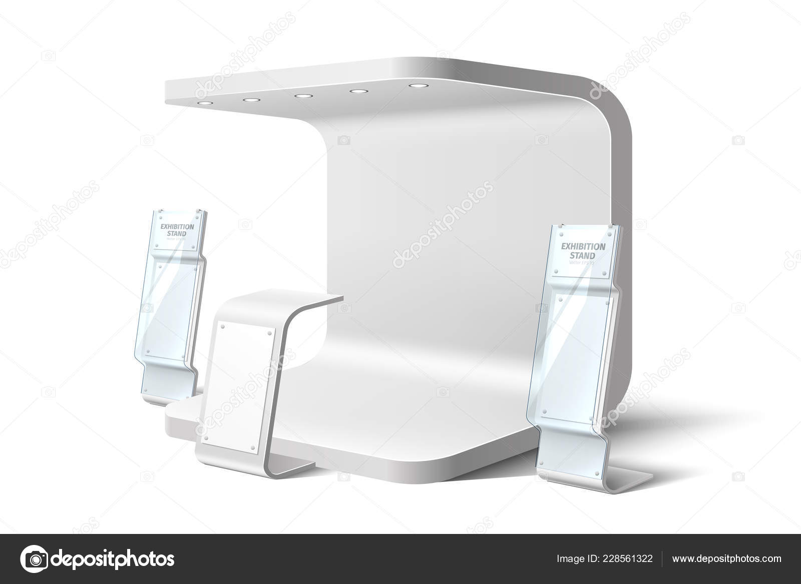 Expo Exhibition Stands Up : Vector exhibition stand business expo mock up u stock vector