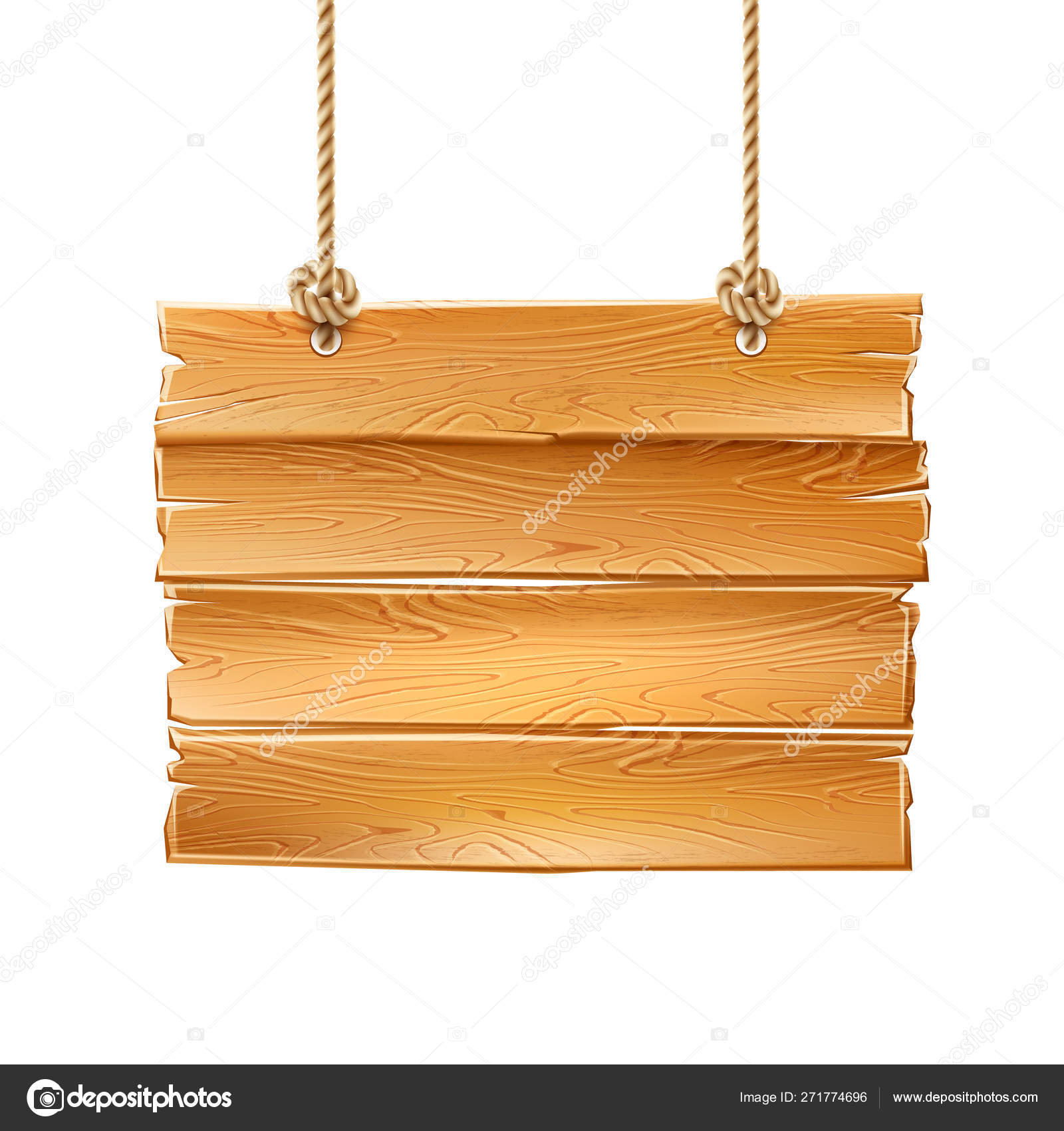 Vector 20d wooden signage signboard signpost a Stock Vector Image ...