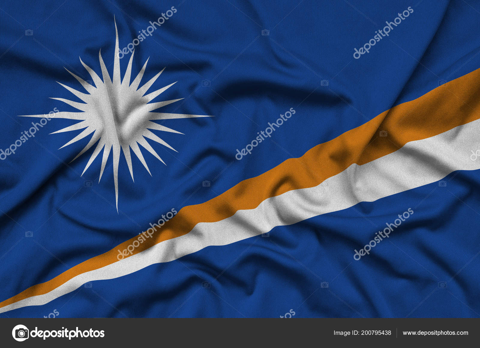 What is depicted on the flag of India and why