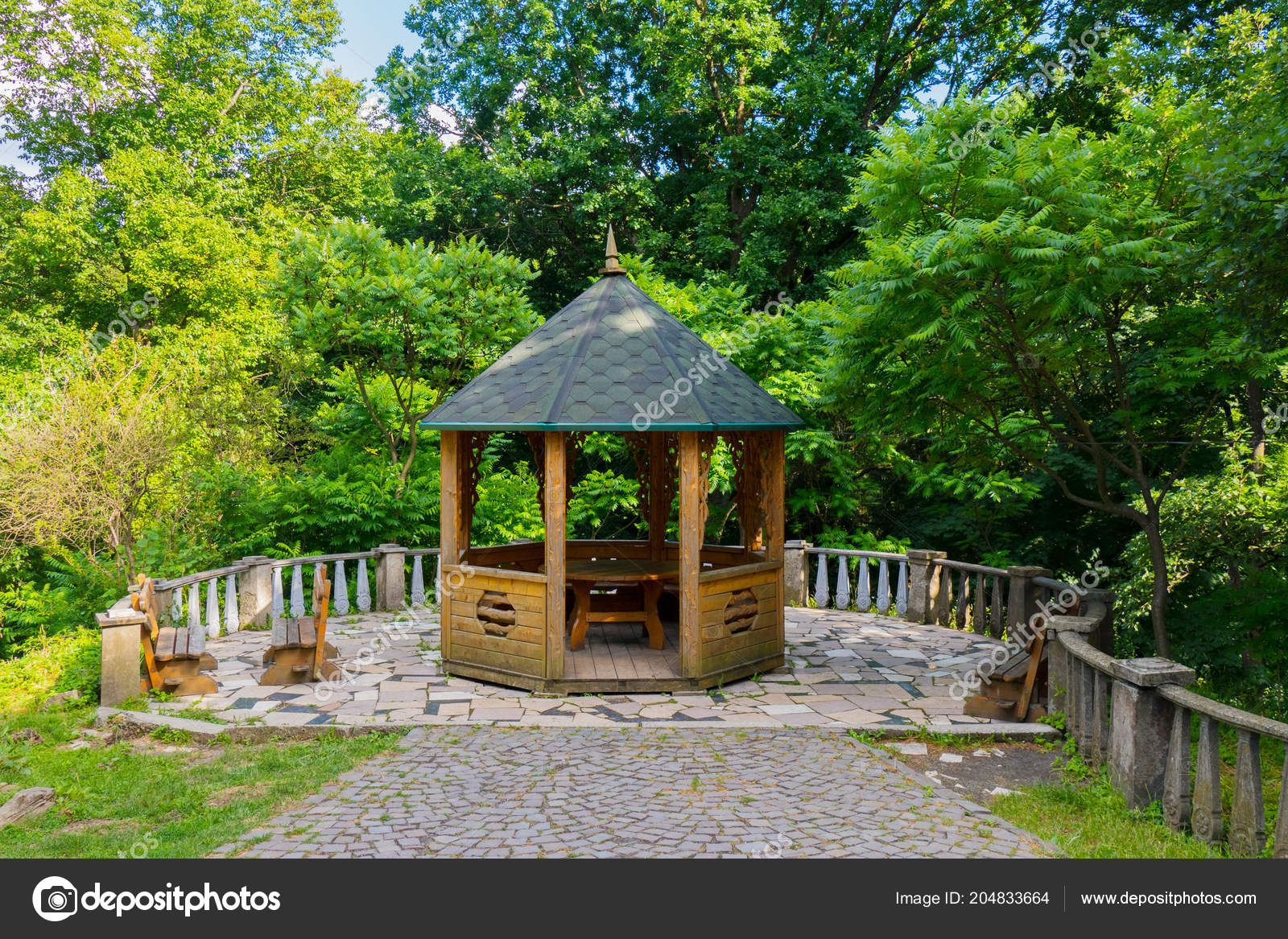 Incredible A Picturesque Recreation Area With A Wooden Pergola With A Forskolin Free Trial Chair Design Images Forskolin Free Trialorg