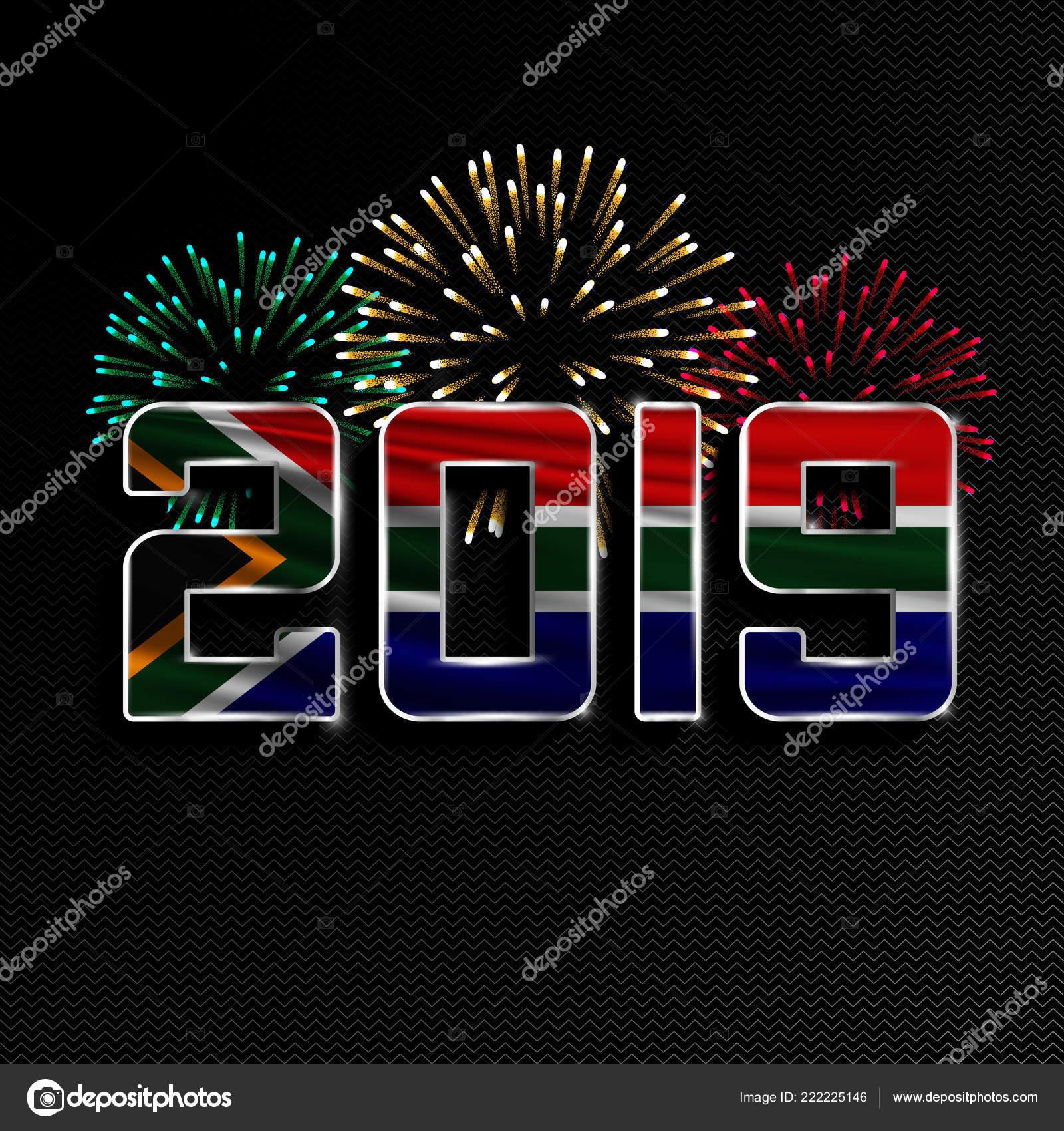 Image De Joyeux Noel 2019.Bonne Annee Et Joyeux Noel 2019 Image Vectorielle Angelmax