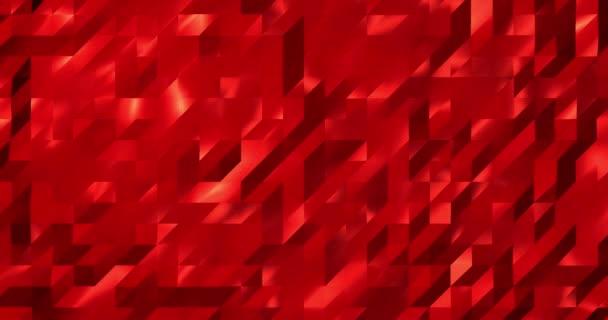 Abstraktní 3D geometrický obrazec. Mozaika Metall pozadí pro obchodní prezentaci. Polygonální vykreslovací smyčka 4k.