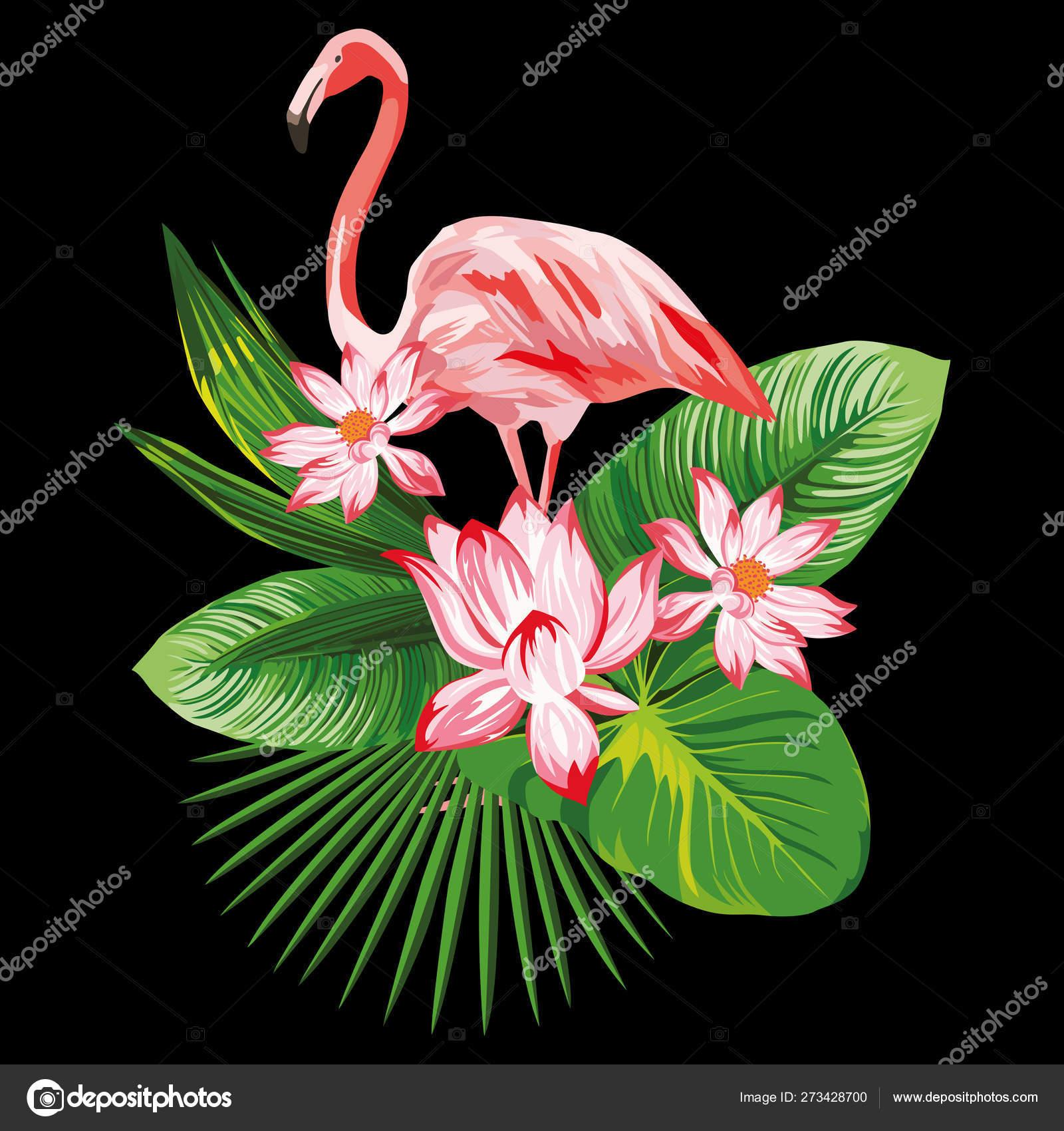 Cool Flamingo Art