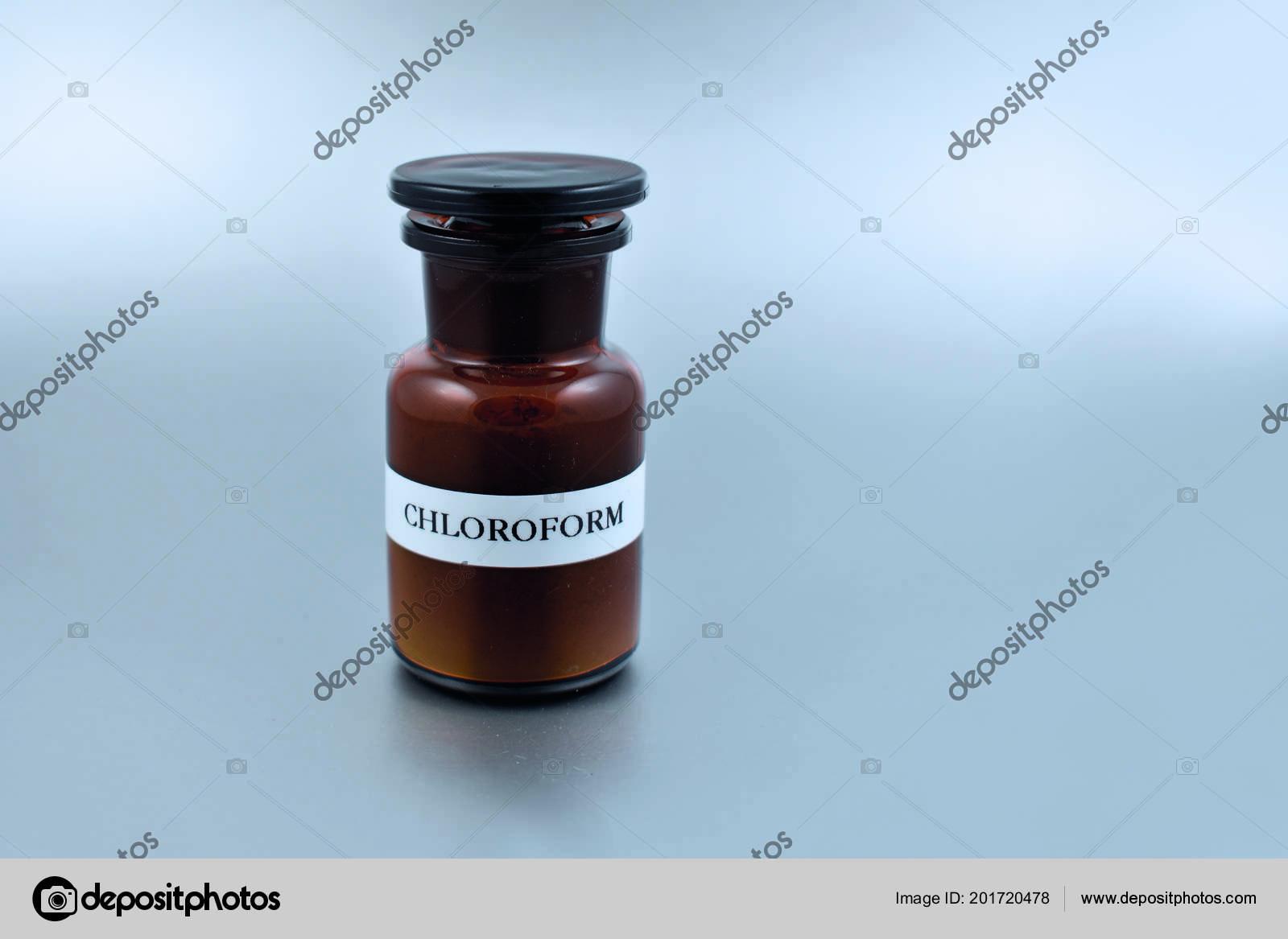 Flasche Für Chloroform Antiquitäten & Kunst