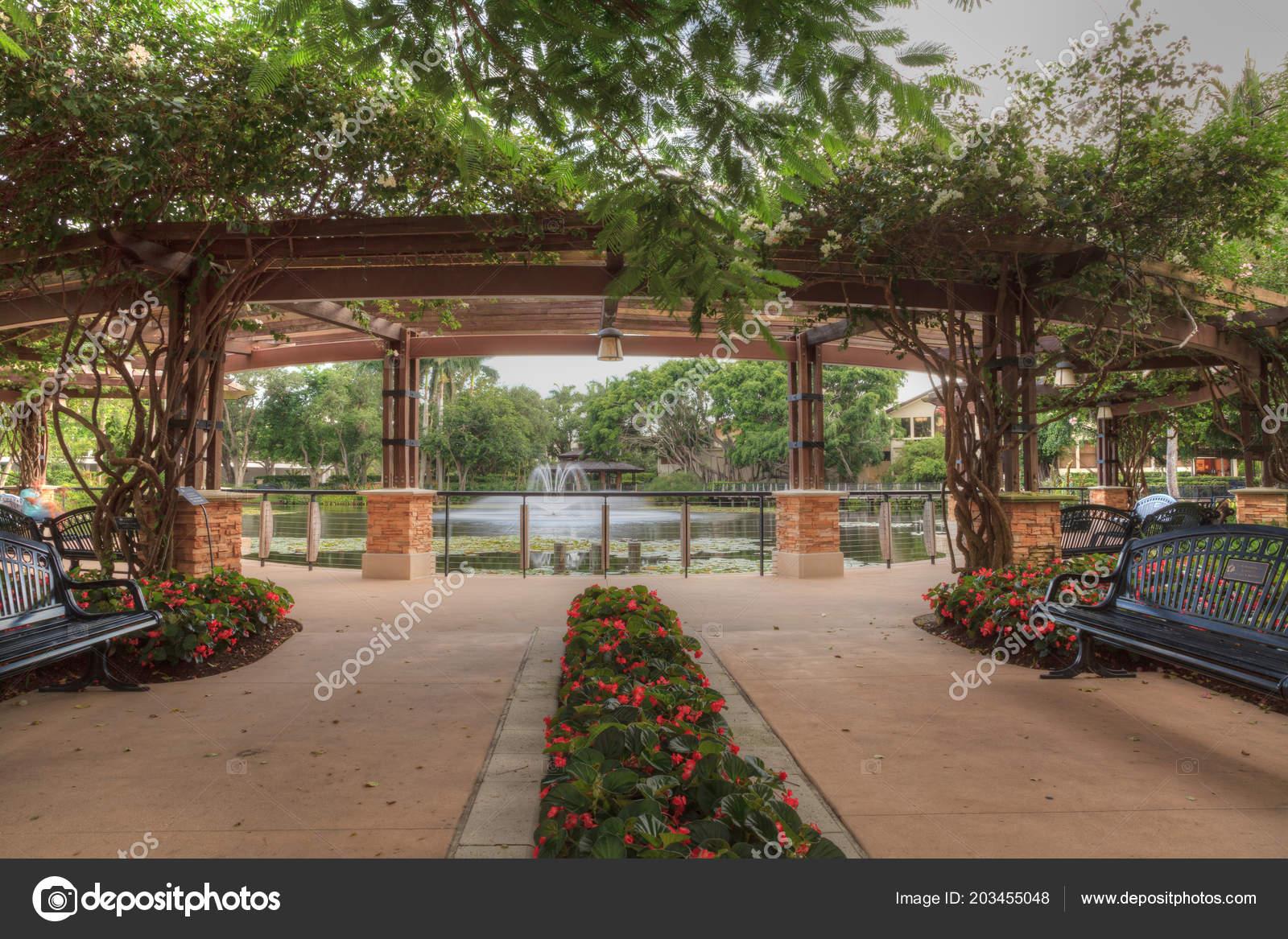 Entryway Garden Hope Courage Memorial Garden Sanctuary Naples ...