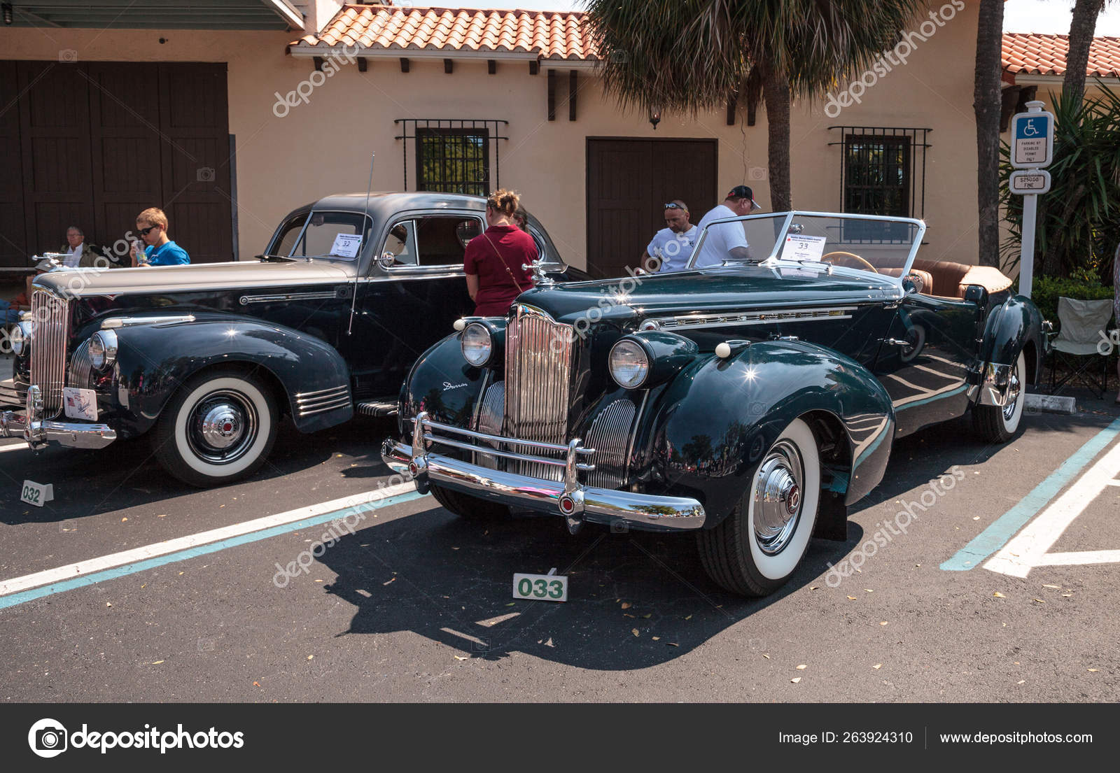 Naples Car Show >> Black 1940 Packard At The 32nd Annual Naples Depot Classic