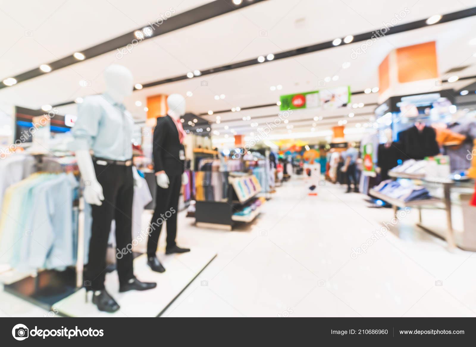 f2cd15acec2 Θολή Φόντο Defocused Ανδρικά Ρούχα Καταστήματα Στο Σύγχρονο Εμπορικό ...