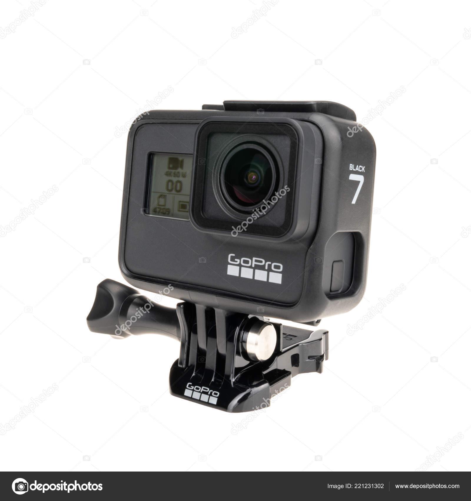 Bangkok Thailand Sep 2018 New Gopro Hero Black Action Camera