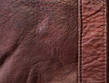 Leather texture detail background stock vector