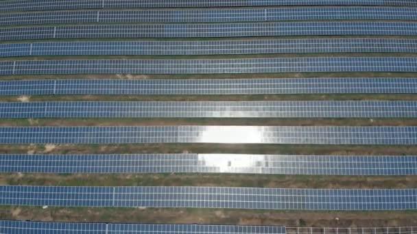 Solární panely od birds eye