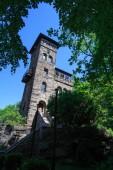 Fotografie Blick auf den Czorneboh-Turm