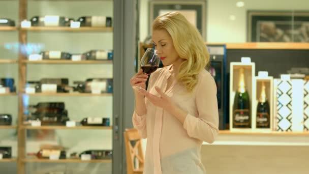 ochutnávka červené víno Sommelier