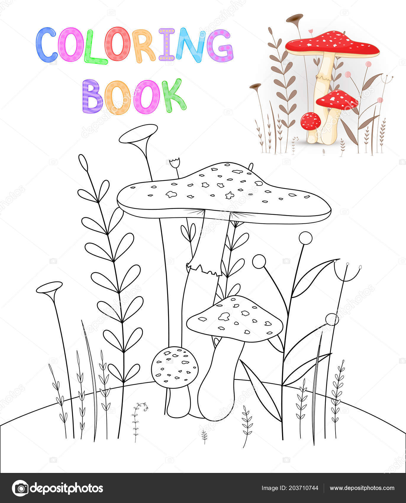 Children S Coloring Book With Cartoon Animals Educational Tasks