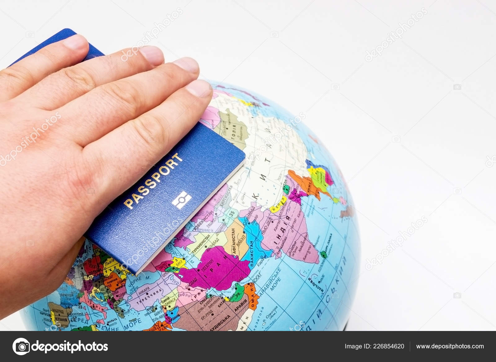 Pports Air Tickets Cards Map – Stock Editorial Photo © kirilyukrm on