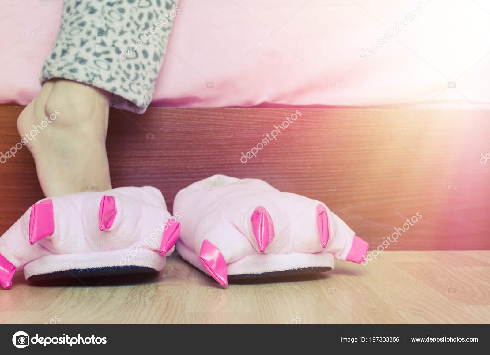 Фотографіі девушек в піжамах ноги