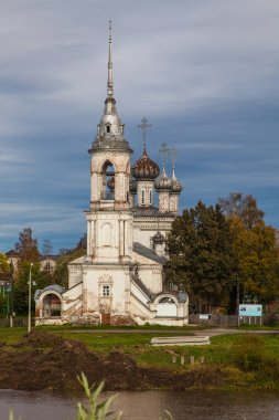 Monument of architecture of the Church of Century - Orthodox church in Vologda, built in 1731-1735