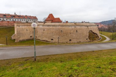 Ancient fort in the capital of Lithuania - Vilnius