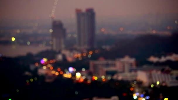 blur fényében a város és az emberkereskedelem fény és két társasház