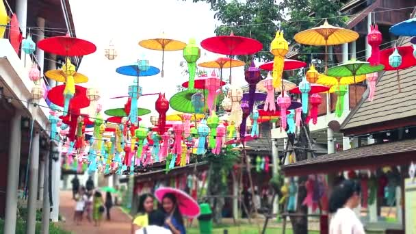 Art lamps in northern Thailand Hanging outdoor decoration