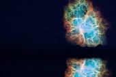 blur reflexió Crabmosaic galaxis köd vissza éjszakai felhő v.