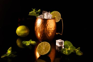 The Moscow mule cocktail is One of the official cocktails of the international bartending Association (IBA),