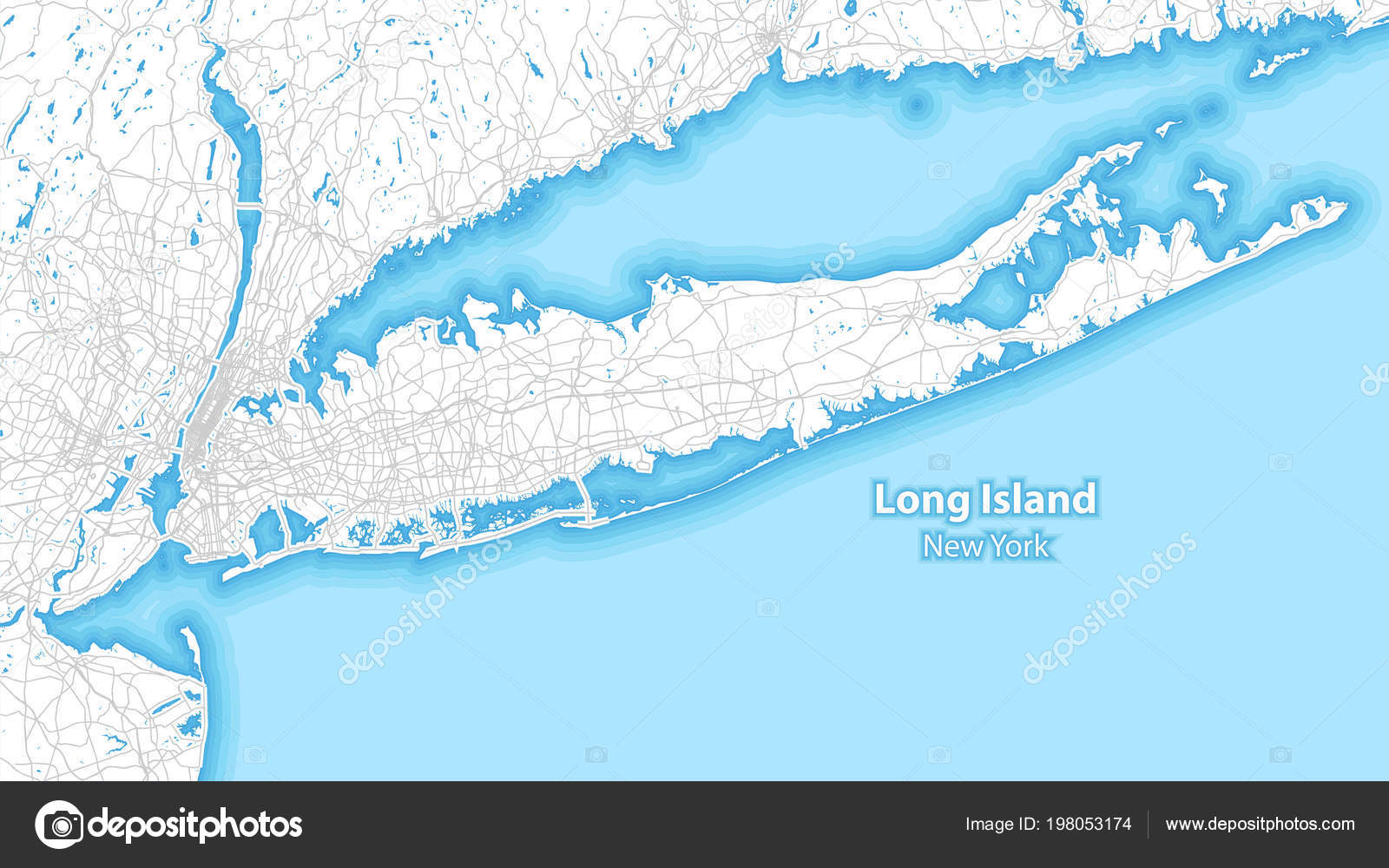 Two Toned Map Long Island New York Largest Highways Roads ... on the bronx, long island map showing towns, suffolk county long island map, long island wantagh, antique long island map, long island herricks, new york map, new york city, nassau county, long island rail map, long island lirr map, washington dc map, long island buffalo, nassau county long island map, new york metropolitan area, suffolk county, long island new york, staten island, long island map view, long island sound, coney island, long island town names, long island bronx map, long island railroad map, long island connecticut map, times square, battle of long island, long beach, long island potato fields, long island boston map, ellis island, north shore long island map, hudson river, brooklyn bridge,